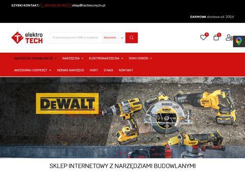 Techniczny24.pl - tani sklep z narzędziami