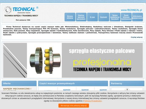 Technical.pl - reduktory walcowe