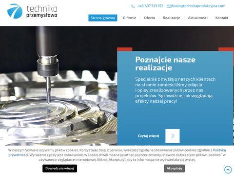 Trchnikaprodukcyjna.com obróbka