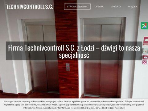 Technivcontroll.pl konserwacja dźwigów