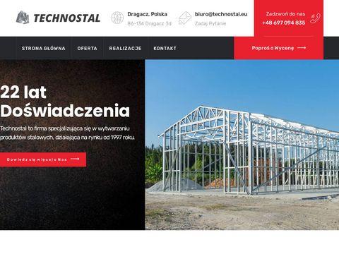 Technostal.eu - świetne hale przemysłowe
