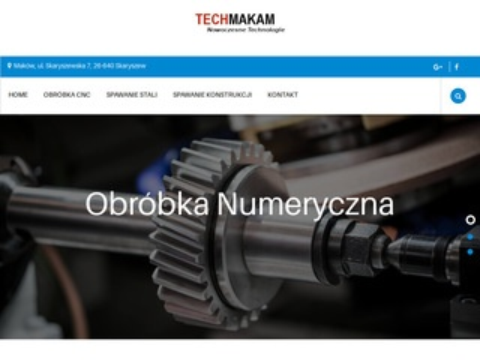 Obróbka CNC, spawanie stali techmakam.pl