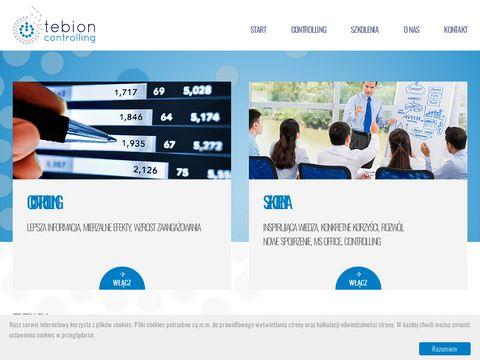 Tebion.pl budżetowanie i controlling Tarnów