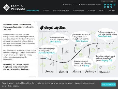 Teamandpersonal.pl budowanie zespołu