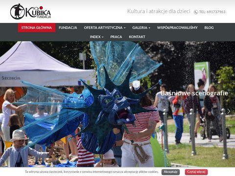Teatrkubika.pl imprezy dla dzieci