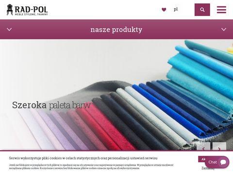 Tkaniny dekoracyjne - RadPol