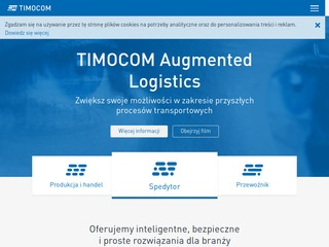 Imocom.pl giełda transportowa oraz wolne ładunki