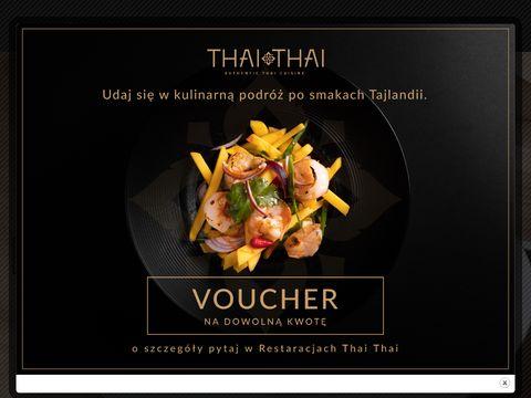 Thai Thai - restauracja w sercu Warszawy