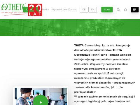 Theta-doradztwo.pl - Zarządzanie chemikaliami