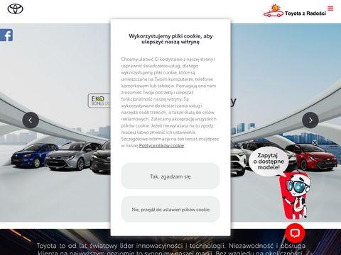 Toyota-radosc.pl Warszawa