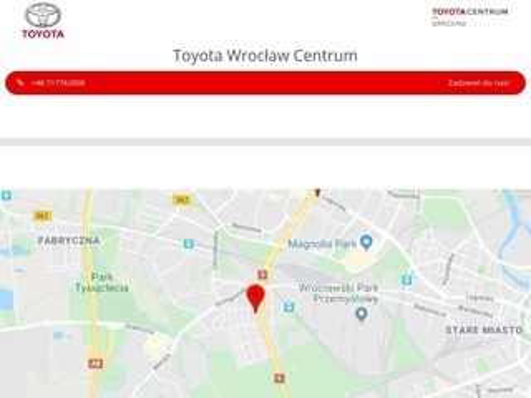 Toyota-centrum.pl Wrocław sprzedaż