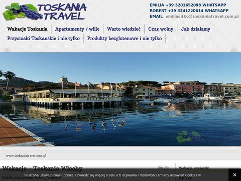 Toskaniatravel.com.pl tanie noclegi Włochy
