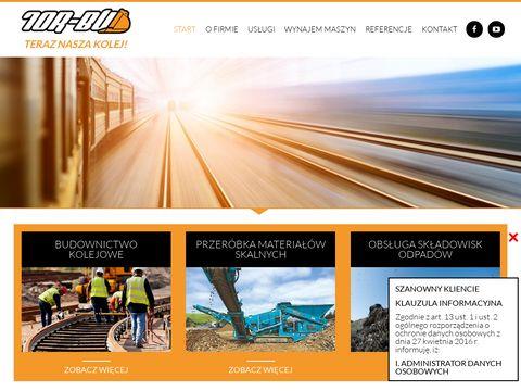 Tor-Bud remonty torów kolejowych