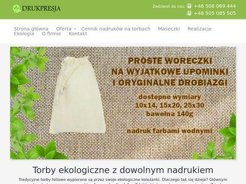 Torebki-ekologiczne.pl torby z nadrukiem