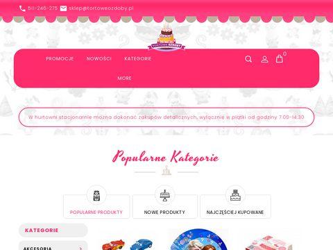 TortoweOzdoby.pl - dekoracje cukiernicze
