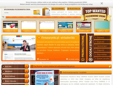 Top-wanted.pl najbardziej poszukiwane strony