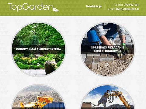Ogrody i kostka brukowa - Top Garden Toruń