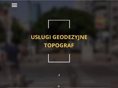 Topograf - usługi geodezyjne Tomaszów Maz