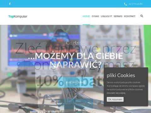 Topkomputer.com naprawa tabletów Łódź