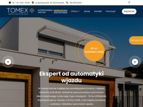 Tomex-bramy.pl