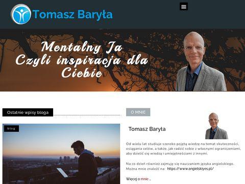Mówca motywacyjny i coach, Tomasz Baryła