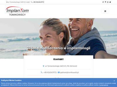 Tomikowski.pl stomatologia estetyczna Łódź