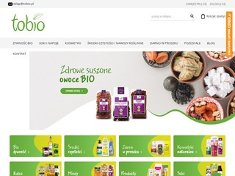 Tobio.pl sklep zdrowa żywność