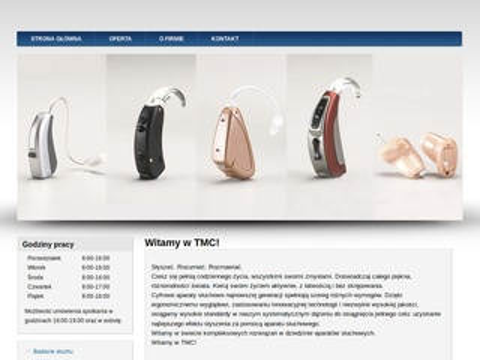 TMC - systemy wspmagające słyszenie