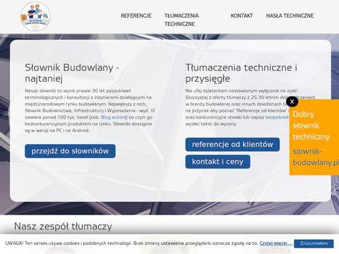 Tlumaczenia-budowlane.pl - tłumacz techniczny
