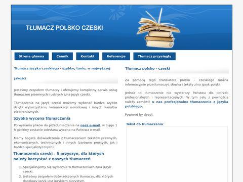 Tlumacz-polsko-czeski.pl