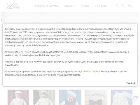Usia.pl - Ubranka do chrztu