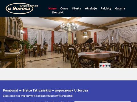 Usorosa.pl kwatery Białka Tatrzańska