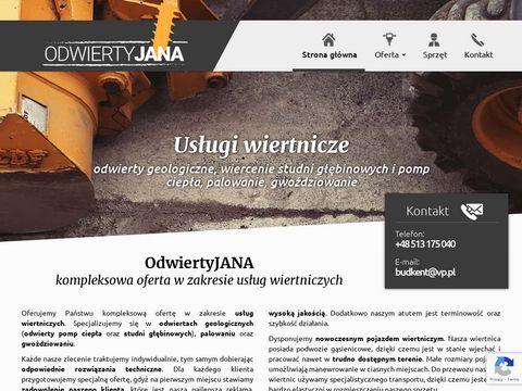 Uslugi-wiertnicze.pl wiercenie geotermalne
