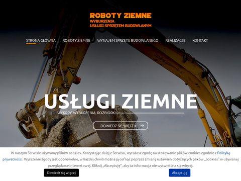 Uslugiziemnesk.pl głębokie wykopy Wrocław