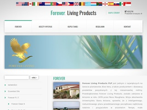 Uroda-aloes.pl Forever Living - sklep