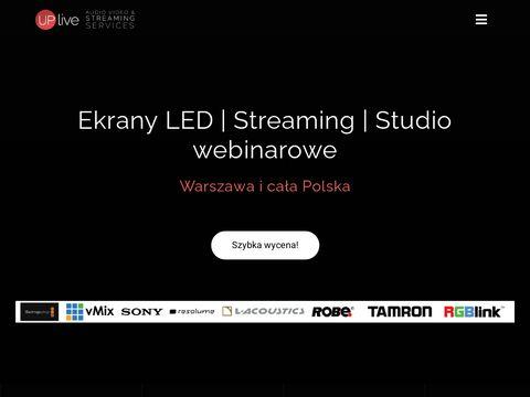 Uplive.pl - obsługa eventów