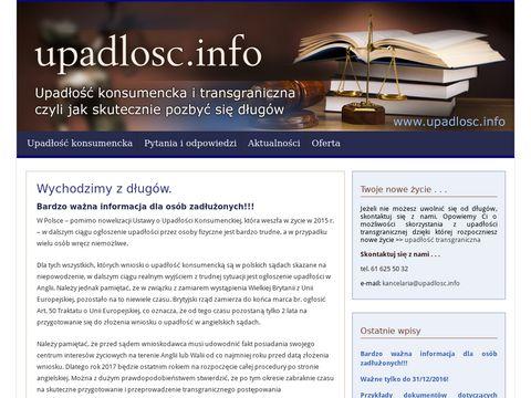 Upadlosc.info