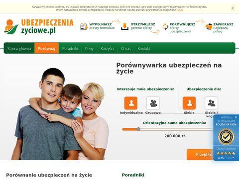 Ubezpieczeniazyciowe.pl