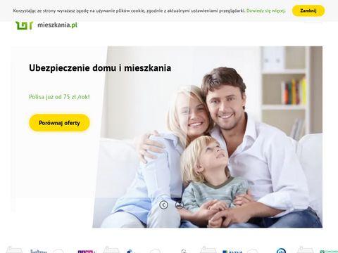 Ubezpieczeniemieszkania.pl Porównywarka