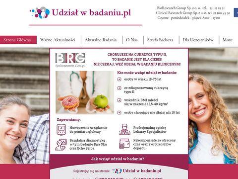 Udzialwbadaniu.pl - badania kliniczne