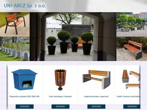 Uni-Arcz pojemniki plastikowe na śmieci