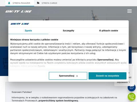 Unity Line - morskie podróże do Skandynawii