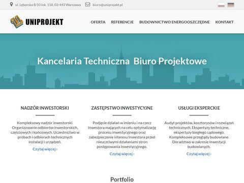 Uniprojekt.pl skratowania dachu