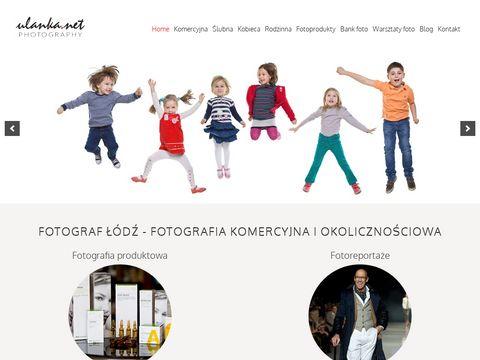 Ulanka.net fotografia reklamowa Łódź