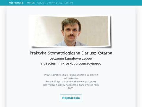 Nowoczesne leczenie kanałowe zębów w Nowym Targu - Dariusz Kotarba