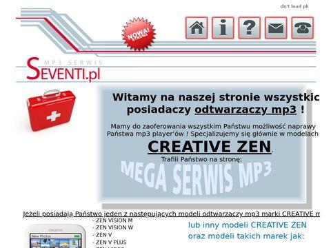 Seventi.pl naprawa i serwis czytników e-book