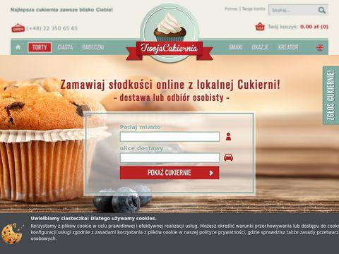 TwojaCukiernia.pl - cukiernia Internetowa