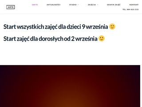 3arte.pl - kursy tańca Gliwice