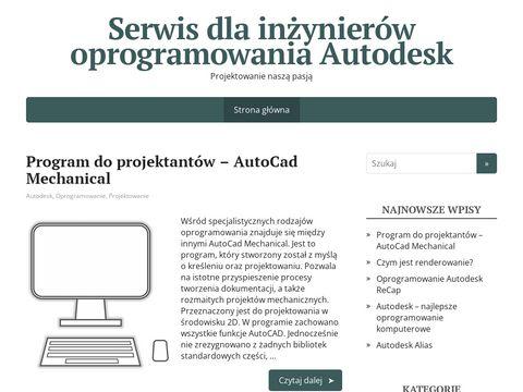 3Dcax.pl - Strona dla inżynierów i projektantów CAD CAM CAE