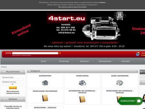 4start.eu sklep rozrusznik i alternator